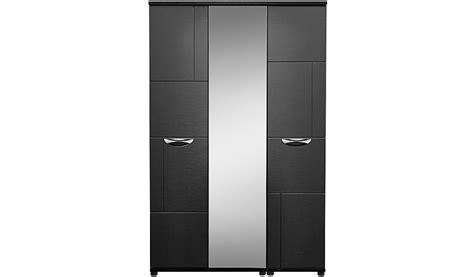 Asda Direct Wardrobes by 3 Door Wardrobe With Mirror Black Wardrobes