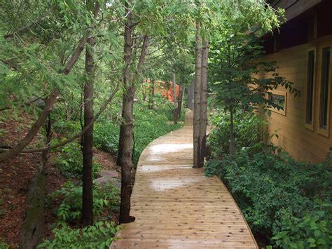 Garden Pictures Ideas meyer s landscaping ltd deck through the woods