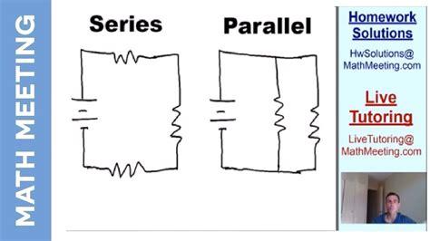 Circuit Diagram Parallel Vs Series