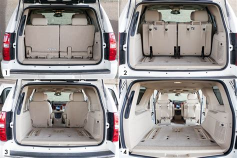 Chevy Suburban Interior Dimensions by Chevrolet Suburban Trunk 2017 2018 Best Cars Reviews