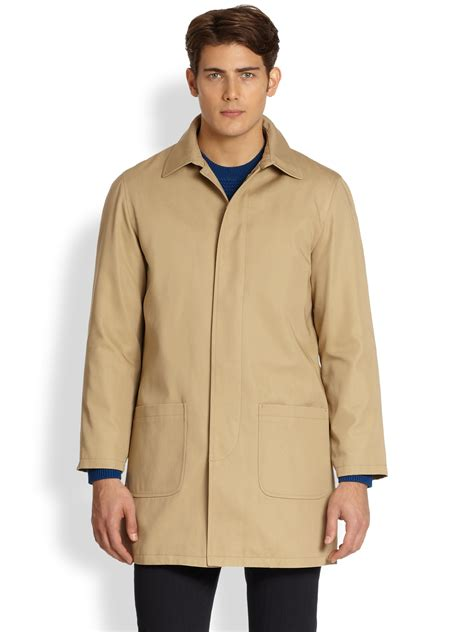 10 Jackets I by Lyst A P C Mac Coat In For