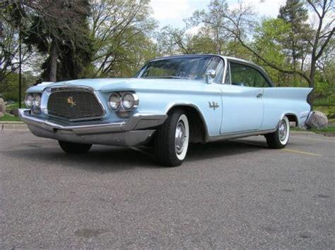 1960 Chrysler New Yorker For Sale by Buy Used 1960 Chrysler New Yorker 2 Door Hardtop In
