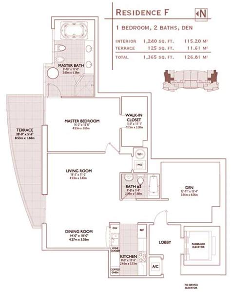 jade brickell condo floor plans