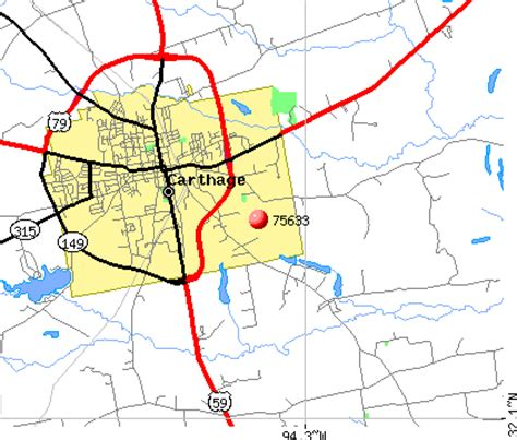 map of carthage texas 75633 zip code carthage texas profile homes apartments schools population income