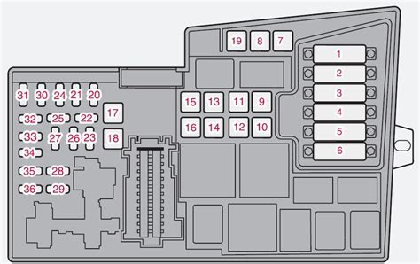 hyundai sonata glove box fuse location schematic