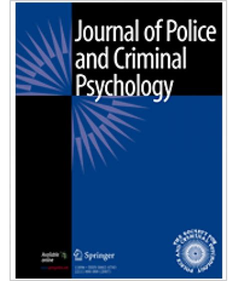 journal  police  criminal psychology philippine distributor  magazines books journals