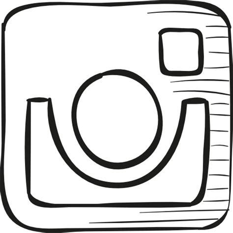 instagram draw logo  social media icons