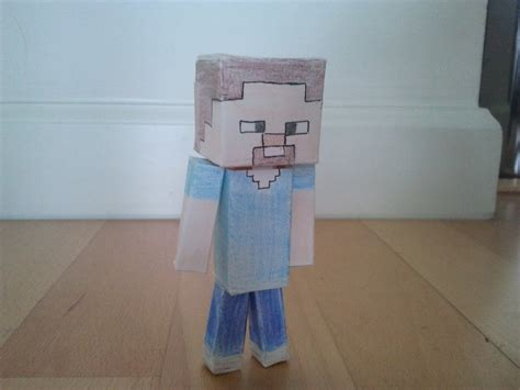 How To Make Paper Steve - the gallery for gt minecraft papercraft bendable steve