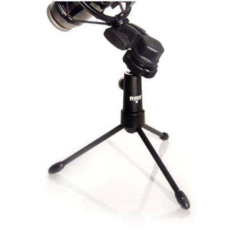 Tripod Mic rode tripod desktop videomic microphone stands at