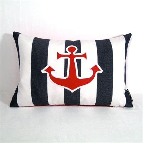 Outdoor Anchor Pillow by Nautical Pillow Cover Anchor Decorative Outdoor Pillow