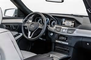Mercedes E Class 2014 Interior 2014 Mercedes E Class Sedan And Wagon Priced From
