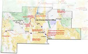 New Mexico Blm Maps by Las Cruces Map Images Frompo 1