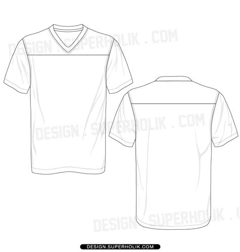 Football Jersey Design Template jersey hellovector