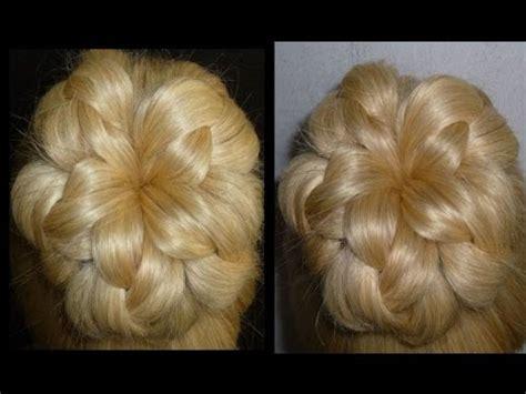 updo hairstyles with donut einfache frisuren flechtfrisuren mit dutt zopffrisuren