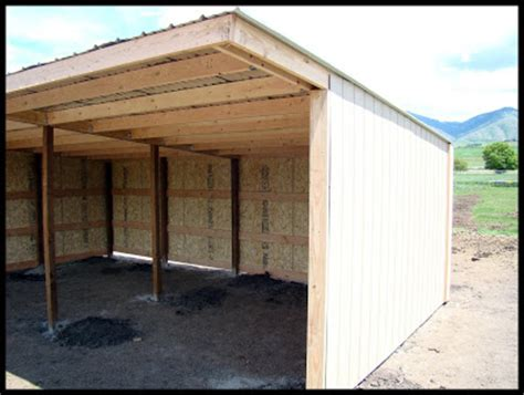 3 sided shelters