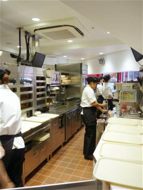 layout of kfc kitchen kfc s new concept next gen restaurant debut in shibuya