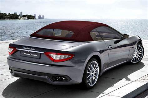 Maserati Sports Car Price by Maserati Grancabrio Price Announced Sports Car Zone