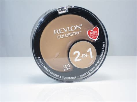 Compact Foundation Revlon Revlon Colorstay 2 In 1 Compact Makeup Concealer Review
