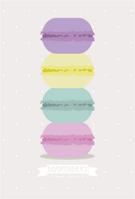 girly macaron wallpaper wallpaper macarons by martahug wallpapers fondos