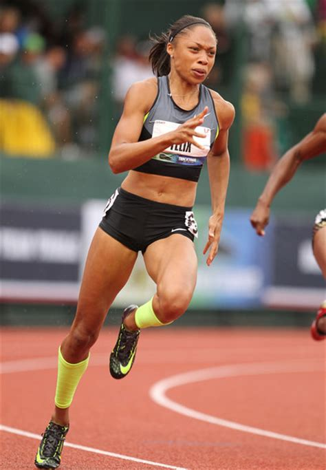allyson felix body more pics of allyson felix running shoes 19 of 31