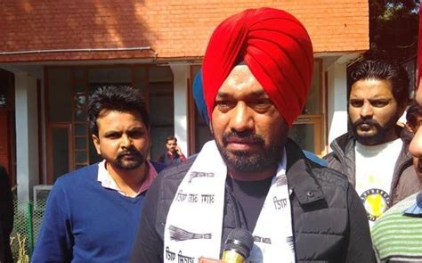 Aam Aadmi Also Search For Gurpreet Ghuggi Also Left The Aam Aadmi