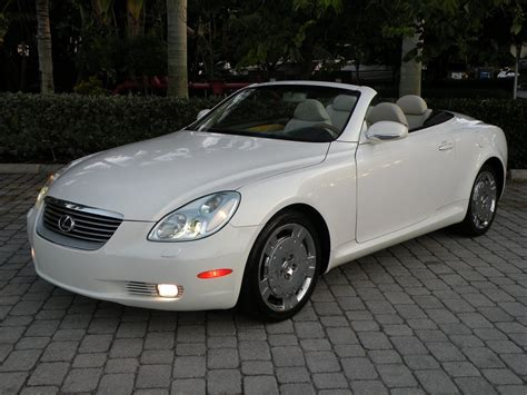 lexus convertible sc430 2004 lexus sc430 convertible for sale auto haus of fort