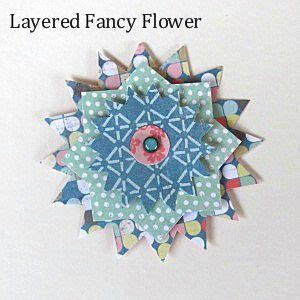Hk 6003 Layer Flower how to make flowers for scrapbooking and cards