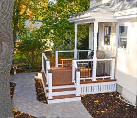 Side Porches by Front Porches A Pictoral Essay Suburban Boston Decks