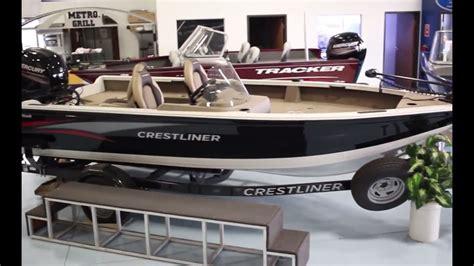 crestliner boats youtube 2016 crestliner fish hawk 1850 sc fishing boat for sale
