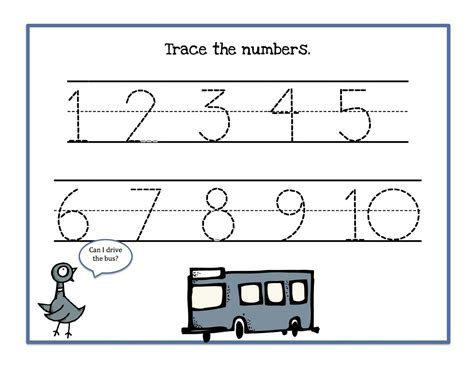 free printable numbers 1 to 10 tracing numbers 1 10 worksheets activity shelter