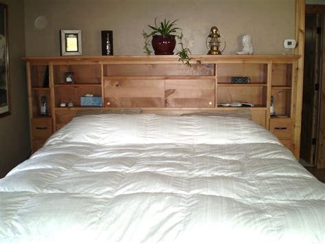 Bookshelf Headboard Queen Beds And Headboards Maxson Designs