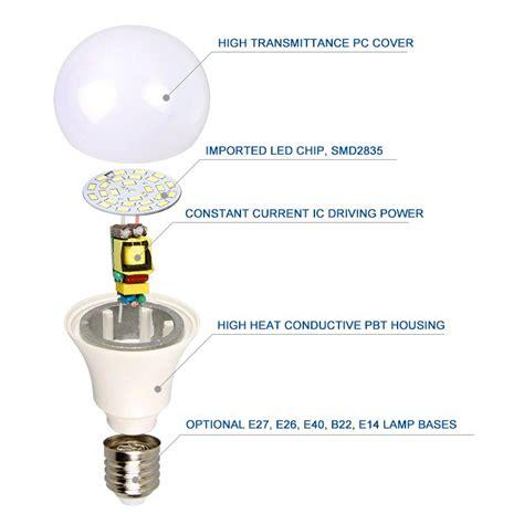 Parts Of A Led Light Bulb Alibaba China Led Lights B22 E27 Magic Led Light Bulb With High Quality Led Parts Skd Buy