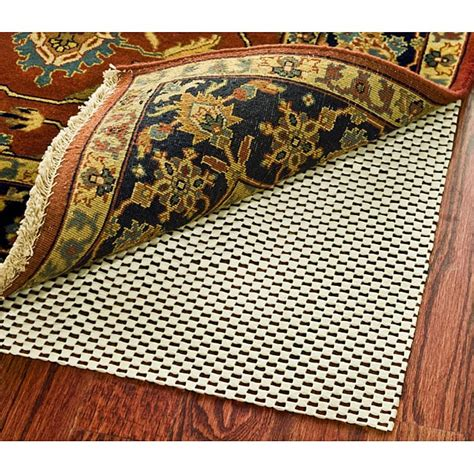 rug on carpet pads safavieh grid non slip rug pad 5 x 8 12435726 overstock shopping great deals on
