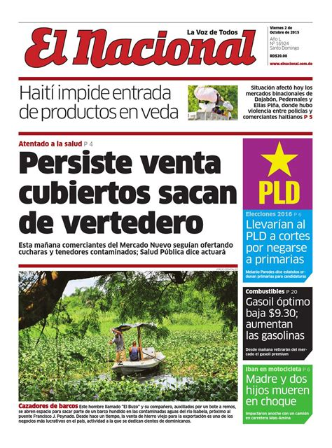 impreso02 10 15 by periodico el nacional issuu