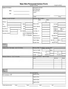 personnel form template personnel form template fill printable