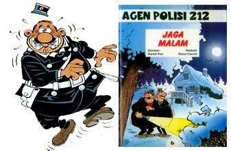 Agen Polisi 212 16 Polisi dunia komik agen polisi 212 quot jaga malam quot