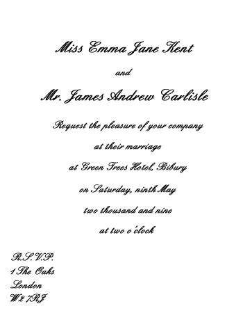 how to word wedding invitations uk wedding invitation wording etiquette