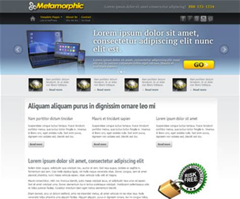 Free Dreamweaver Templates And Website Templates Free Responsive Dreamweaver Templates