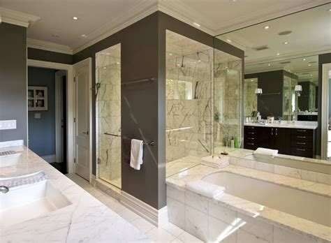 Transitional bathroom 4a yorkville design centre