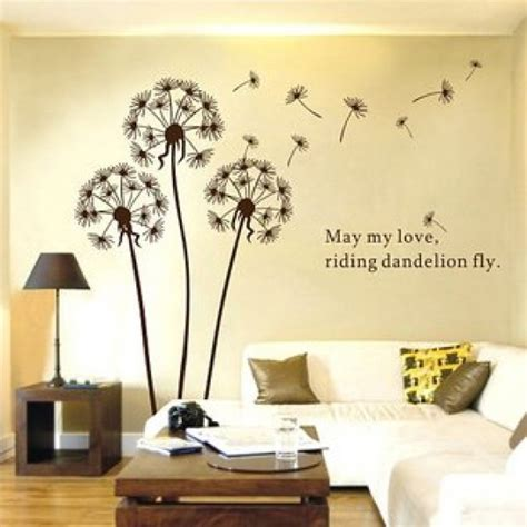 dandelion wall sticker dandelion wall sticker vinyl wall decals by