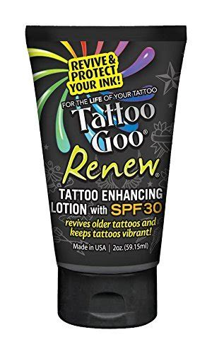 tattoo enhancing lotion amazon com tattoo goo salve lotion combo kit pack of 2