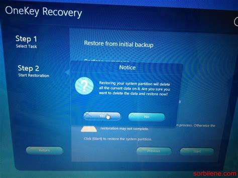 resetting recovery key lenovo g500s notebook recovery recovery key formatting