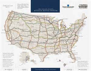us numbered highways map maps united states bicycle route system