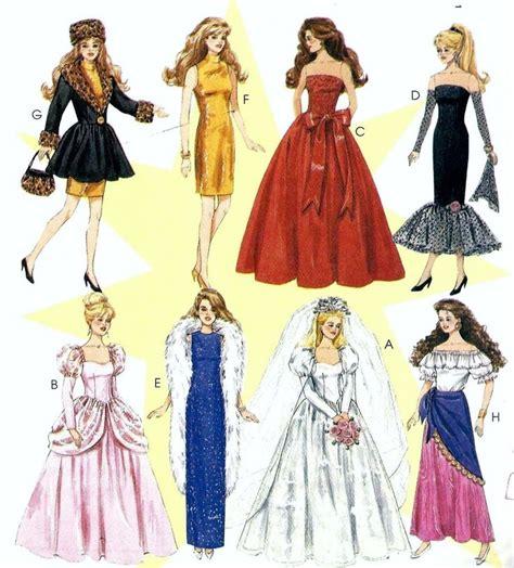 vintage pattern emporium vintage pattern emporium vintage mccall s 11 1 2 quot barbie