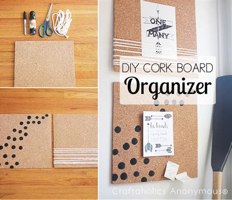 Diy Cork Board Ideas