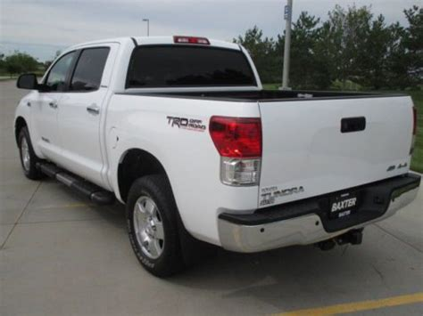 tundra bed liner purchase used 2012 toyota tundra 5 7l crew cab leather 4x4