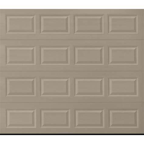 8 ft garage door shop pella traditional 8 ft x 7 ft insulated sandtone