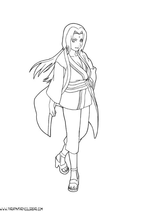 imagenes para dibujar kakashi dibujos para colorear de naruto 033
