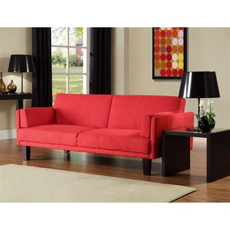 couch bed walmart atherton home soho convertible futon sofa bed and lounger