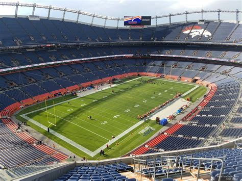 sports authority field sections sports authority field section 542 rateyourseats com